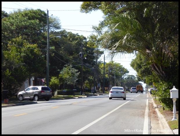 Nebenstrasse in Panama City