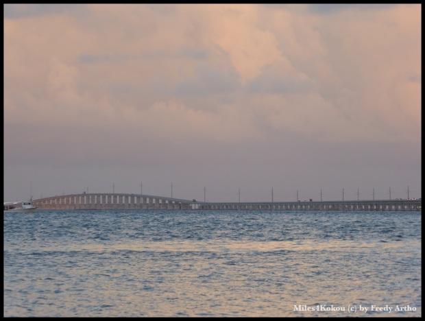 7 Mile Bridge: Die letzten 13.5 Km gestern Abend
