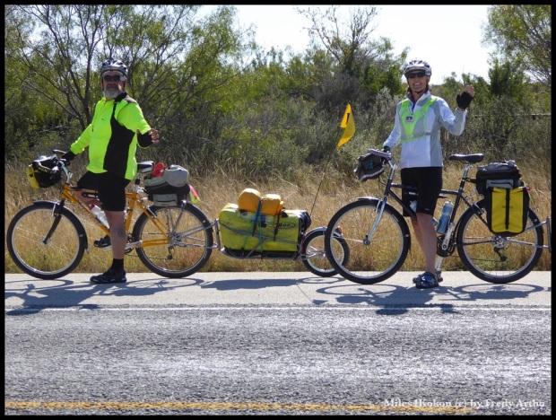 Die beiden Radler aus Austin (TX)