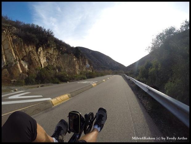 "Auf dem ""Mission Gorge Trail""."