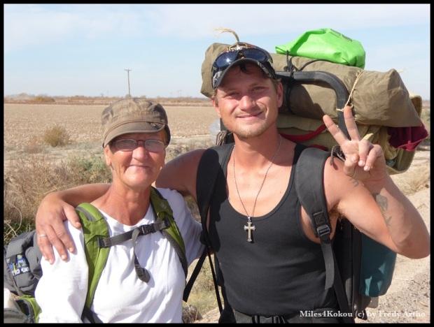 Joshua und seine Mutter auf Wanderschaft durch die USA.