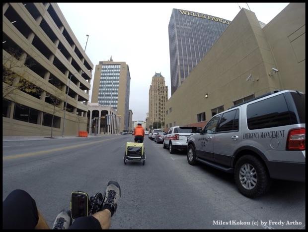 Im Stadtzentrum von El Paso.
