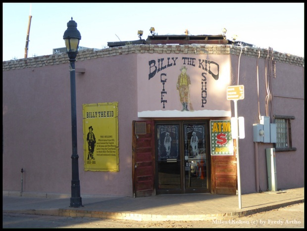 """In diesem Gebäude wurde """"Billy the Kid"""" zum Tode verurteilt."""