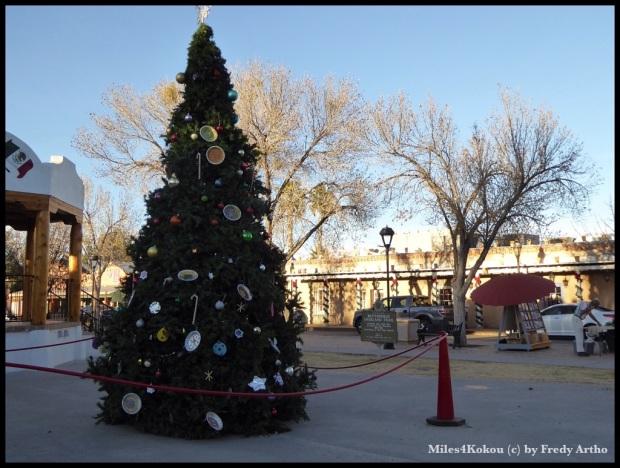 """Irgendwie scheint hier ein Weihnachtsbaum """"deplaziert""""."""