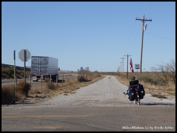 Ich hatte keine Lust auf Schotterstrasse, also auf die Autobahn.