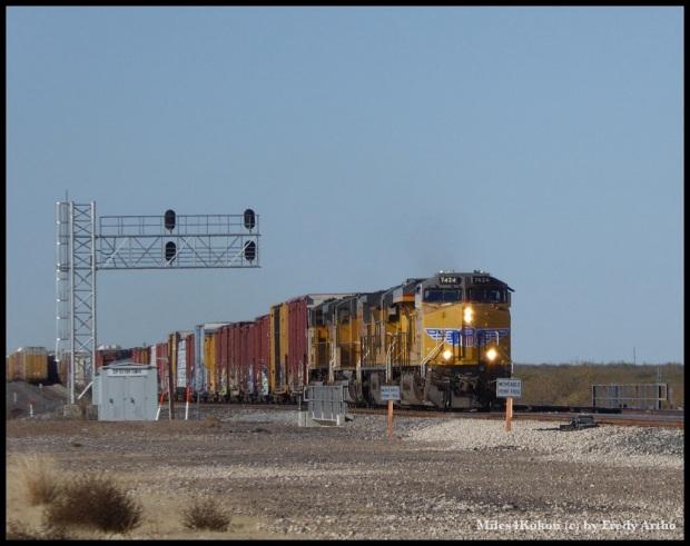 Immer wieder faszinierend. Endlose Güterzüge mit beeindruckenden Lok's.