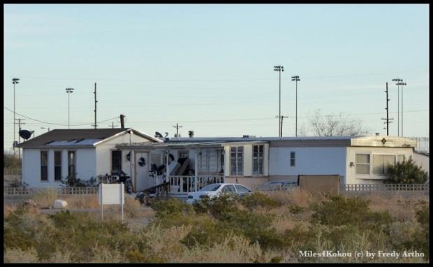 So leben die Arbeiter in Lordsburg.