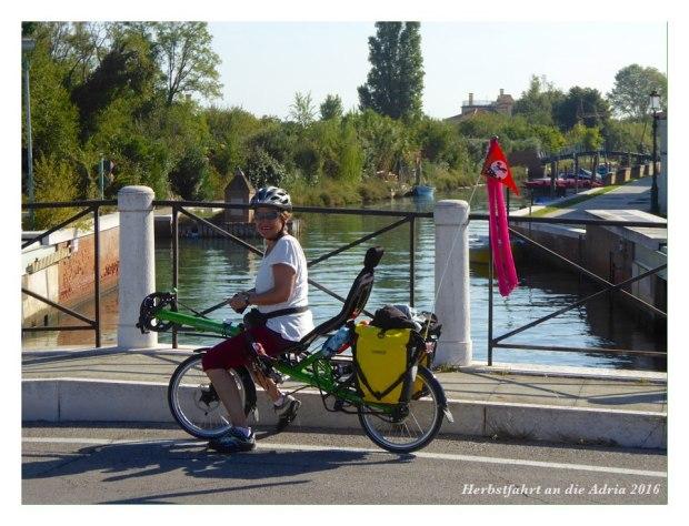 Unterwegs auf dem Lido di Venezia