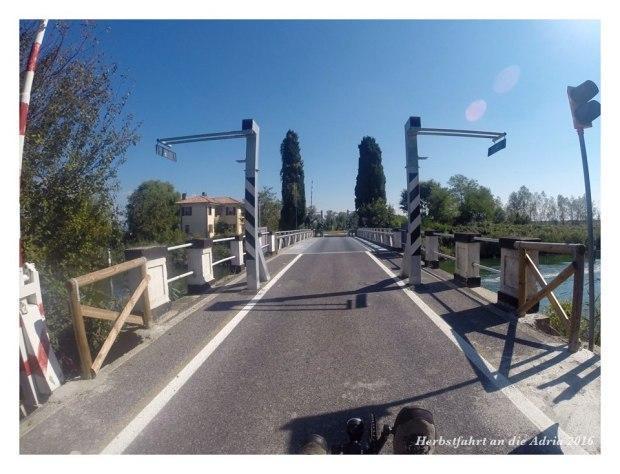 Aber wer in der Routenplanung die Brücken nicht berücksichtigt ...