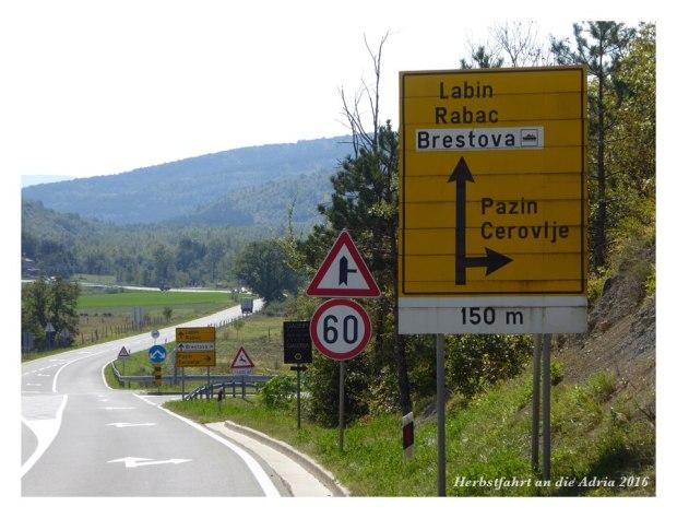 Da wollen wir hin: Fähre in Brestova